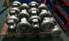 half products of Side Channel Blower